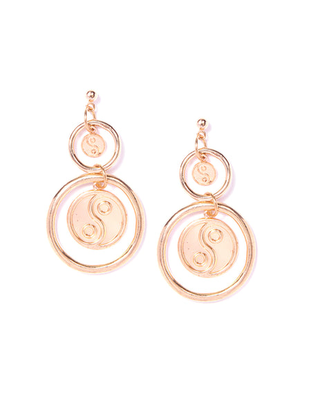 YINYANG EARRINGS (GOLD)