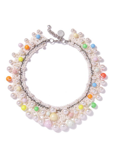 CANDY PEARLS NECKLACE (WHITE)