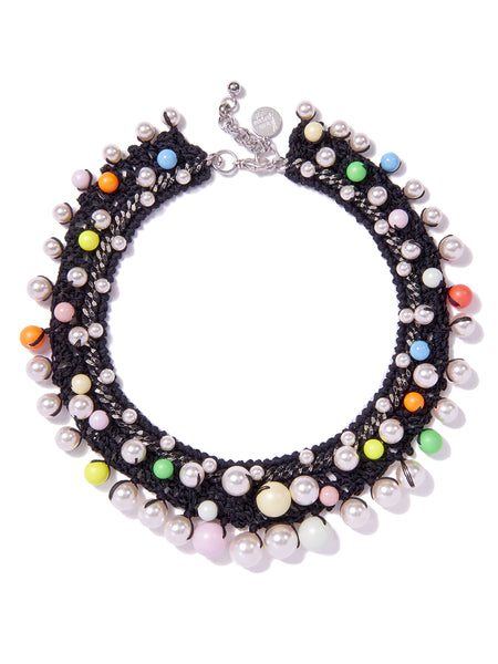 CANDY PEARLS NECKLACE (BLACK)