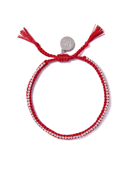 RAINBOW CONNECTION BRACELET (RED)