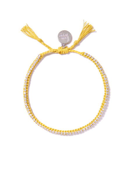 RAINBOW CONNECTION BRACELET (YELLOW)