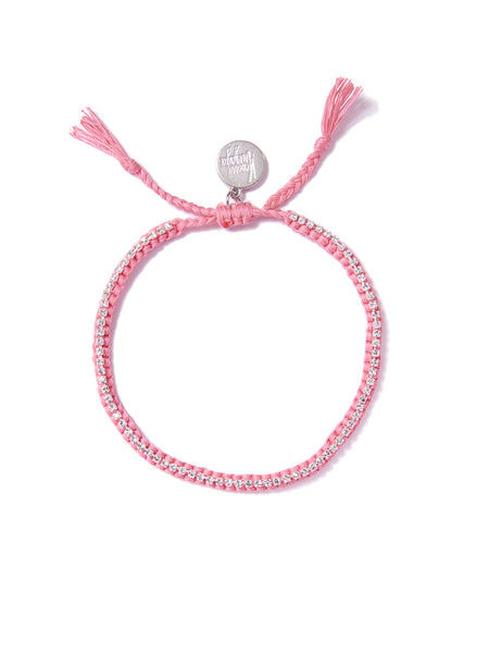 RAINBOW CONNECTION BRACELET (PINK)