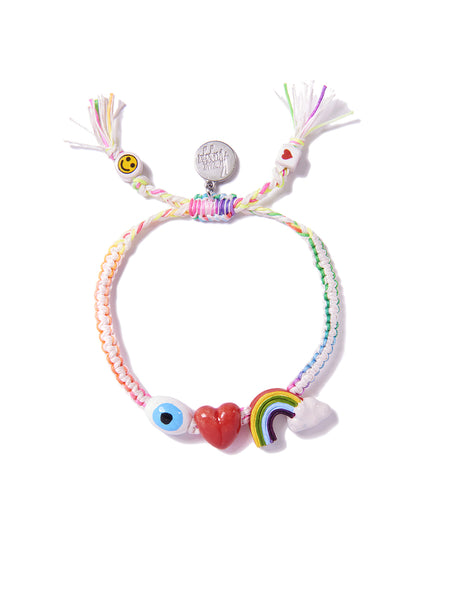 I LOVE RAINBOWS BRACELET