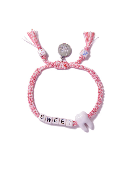 SWEET TOOTH BRACELET (PINK)