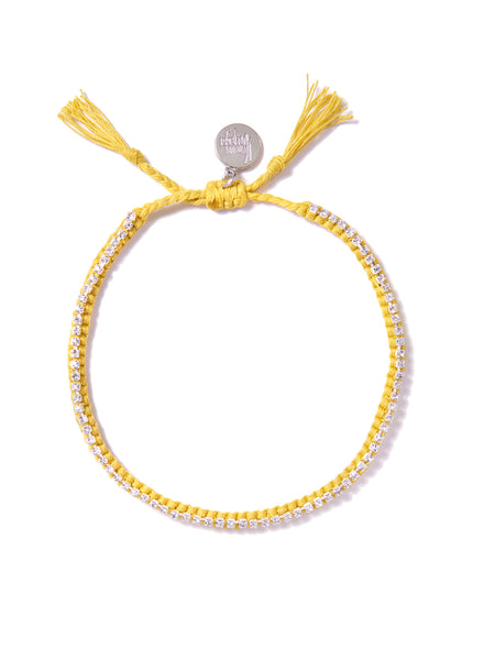 RAINBOW CONNECTION ANKLET (YELLOW)