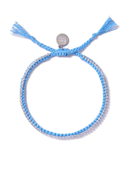 RAINBOW CONNECTION ANKLET (BLUE)