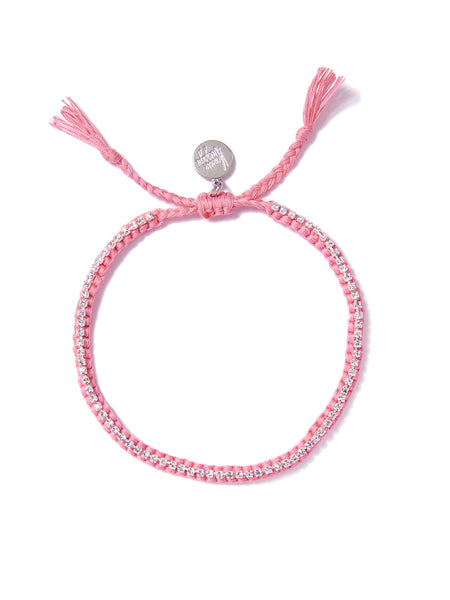RAINBOW CONNECTION ANKLET (PINK)