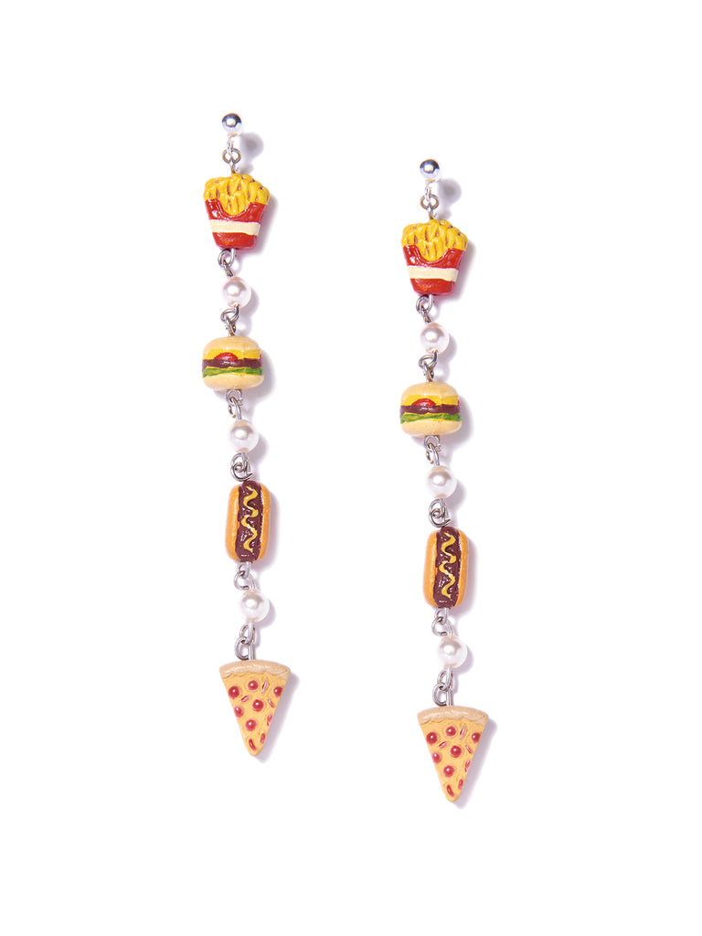 JUNK FOOD EARRINGS EARRING - Venessa Arizaga