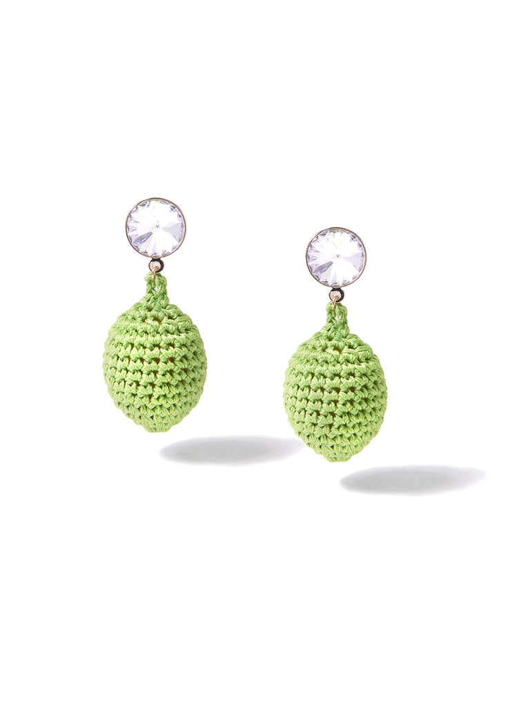 LIME EARRINGS EARRING - Venessa Arizaga
