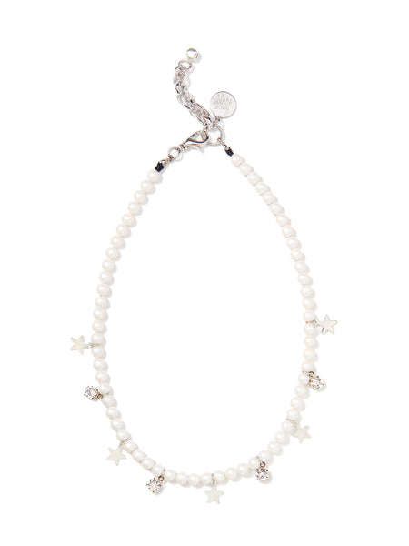 STARS IN THE SKY PEARL NECKLACE (WHITE)