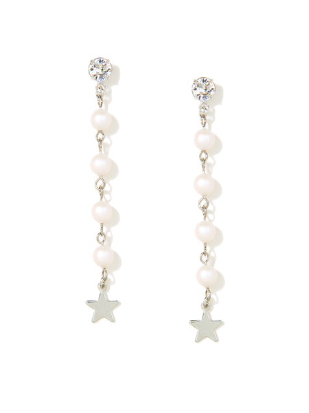 STARS IN THE SKY EARRINGS (WHITE)