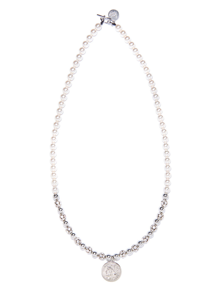 MOONRISE NECKLACE (SILVER)