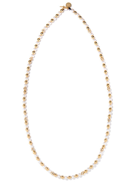 SLOW DISCO NECKLACE (GOLD)