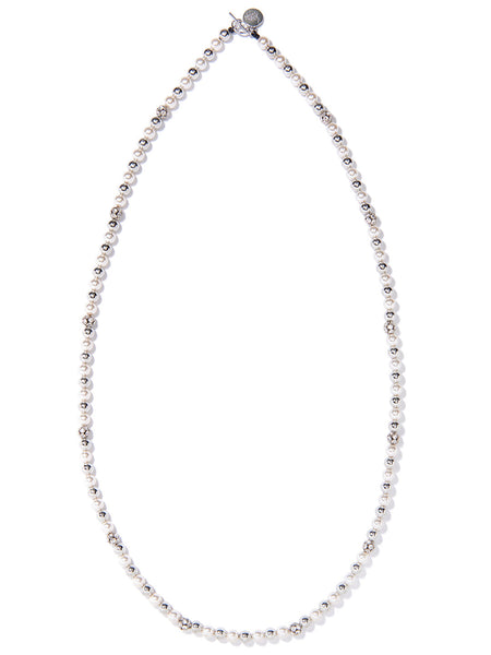SLOW DISCO NECKLACE (SILVER)
