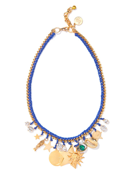 BLUE MONDAY NECKLACE