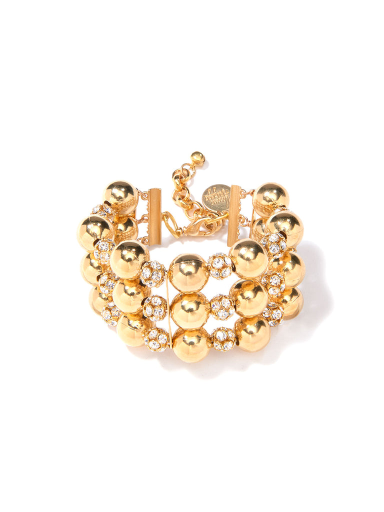 SATELLITE OF LOVE BRACELET (GOLD)