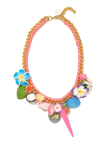 FLAMINGO BEACH NECKLACE
