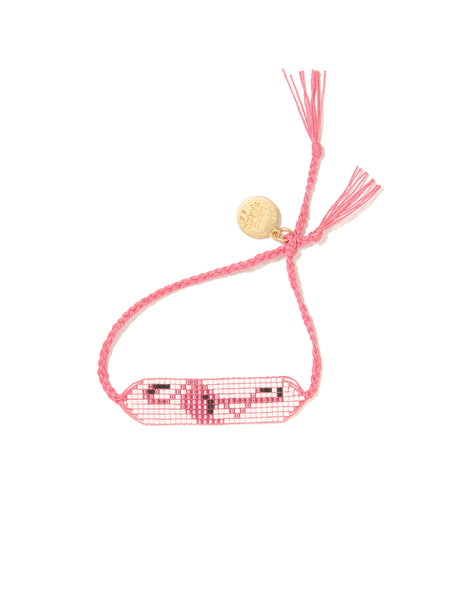 PRETTY PINK FLAMINGO BRACELET