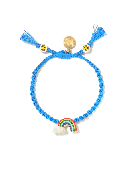 OVER THE RAINBOW BRACELET (BLUE)