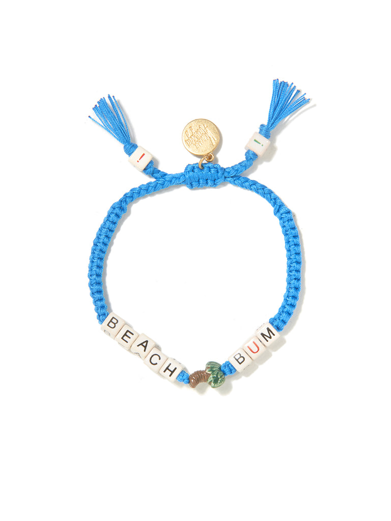 PALM BEACH BUM BRACELET (BLUE)