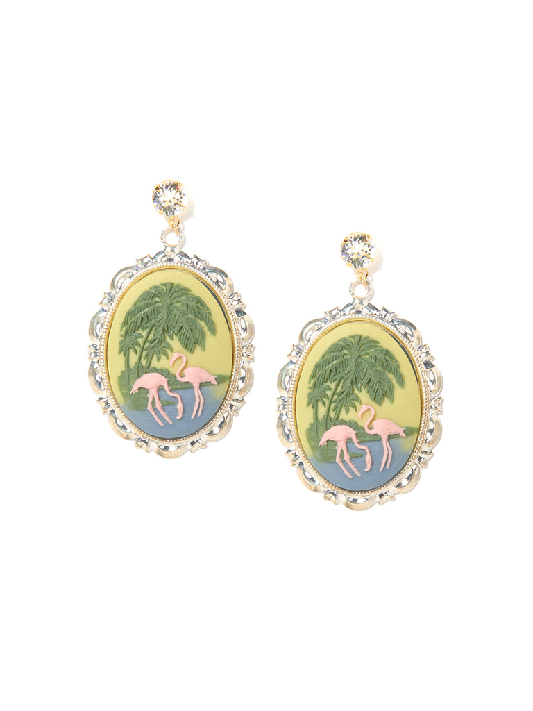 FLAMINGO BEACH EARRINGS