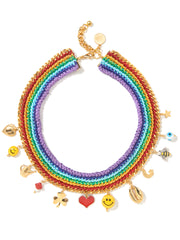 RAINBOW GLOW NECKLACE