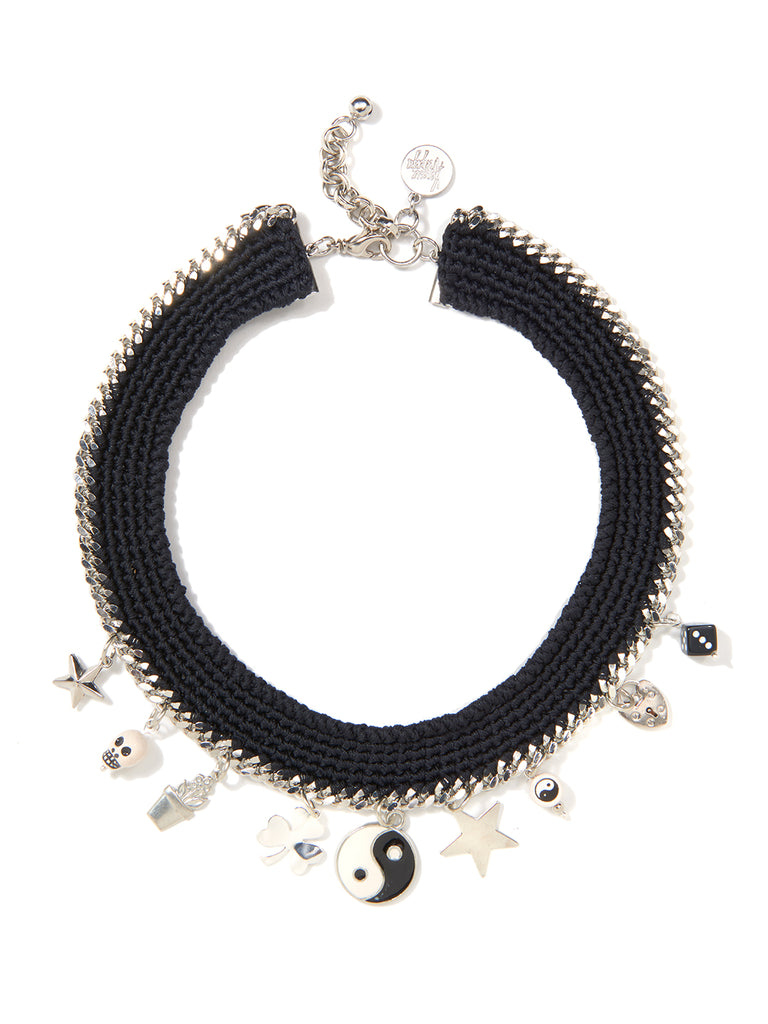 PAINT IT BLACK NECKLACE