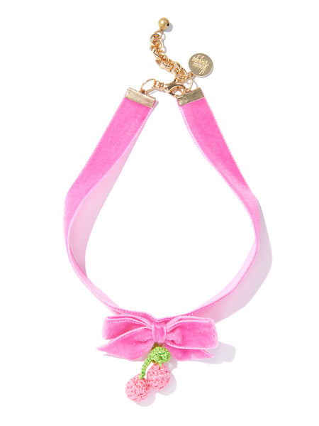 CHERRY PICKING CHOKER (PINK)