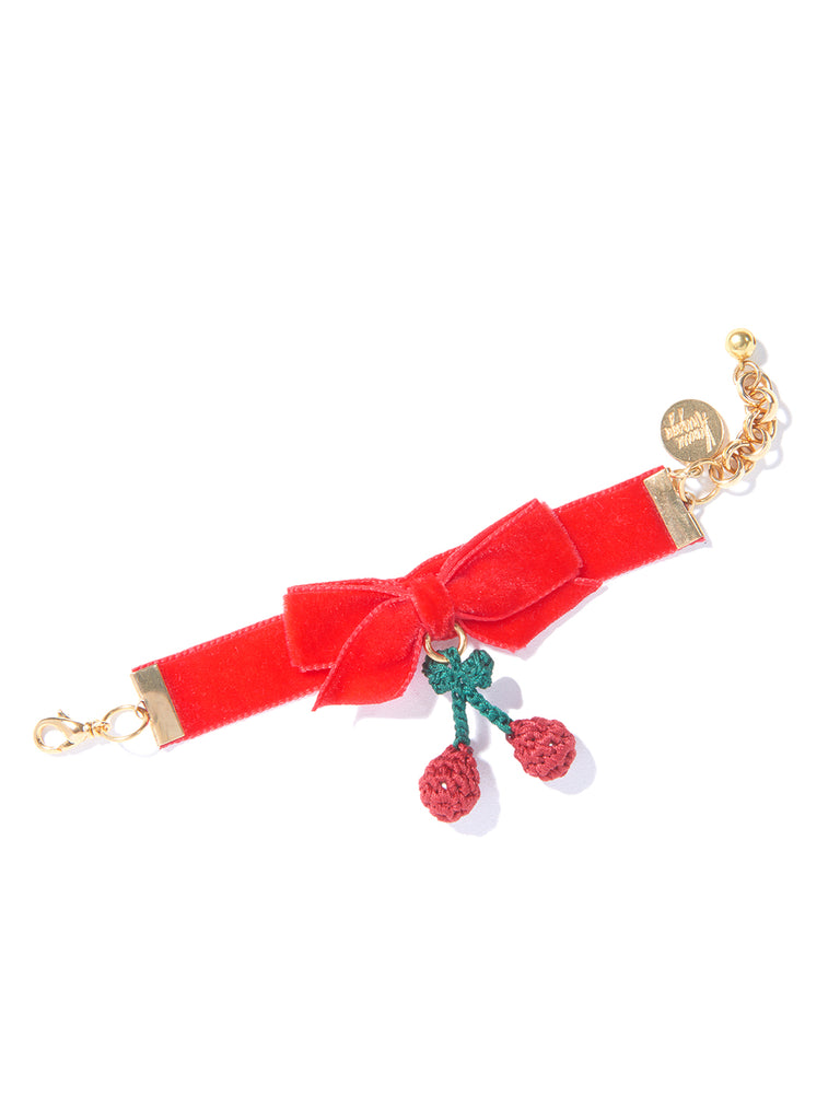 CHERRY PICKING BRACELET (RED)