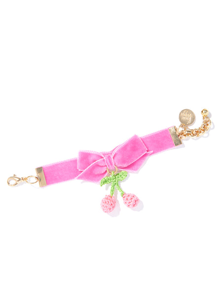 CHERRY PICKING BRACELET (PINK)