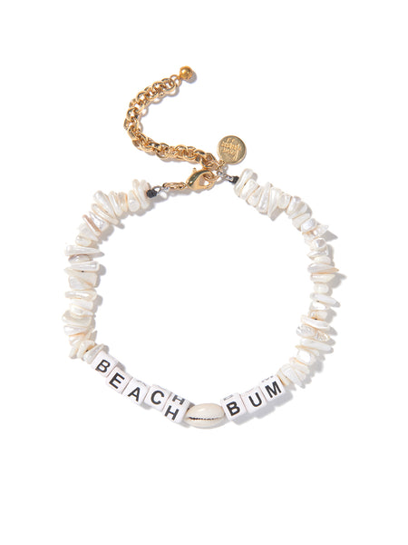 BEACH BUM FRESHWATER PEARL NECKLACE