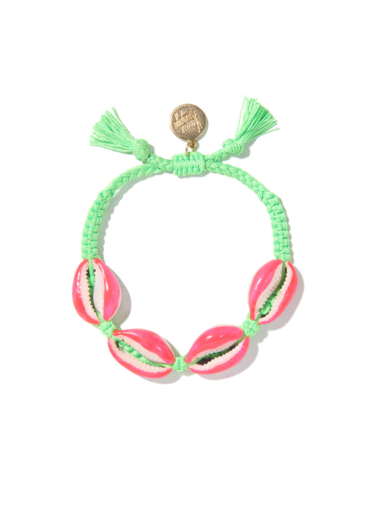 FANTASEA BRACELET (GREEN AND PINK)