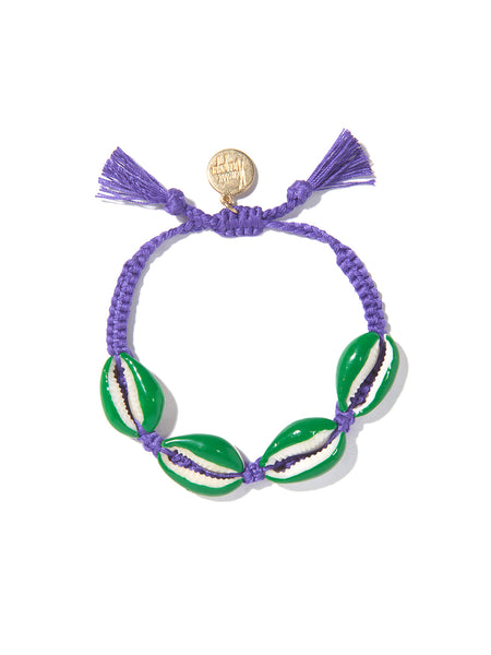 FANTASEA BRACELET (PURPLE AND GREEN)