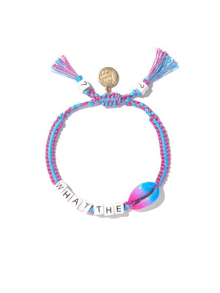 WHAT THE SHELL? BRACELET (BLUE AND PURPLE)