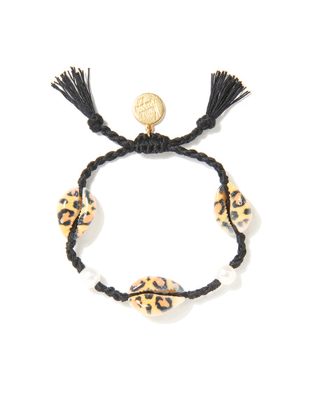 MOONLIGHT BEACH BRACELET (LEOPARD PRINT)