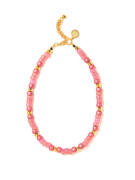 EUPHORIA NECKLACE (PINK AND GOLD)