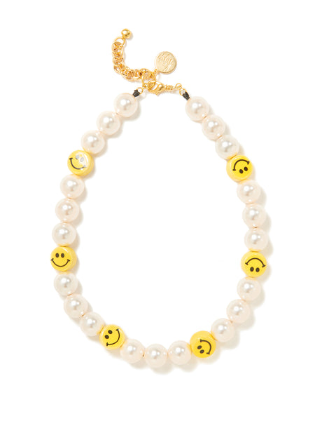 SUNSHINE SMILE PEARL NECKLACE