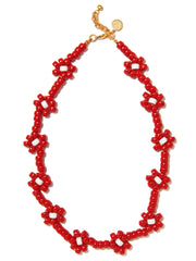 OOPSY DAISY NECKLACE (RED)