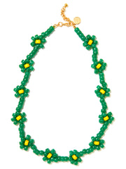 OOPSY DAISY NECKLACE (GREEN)