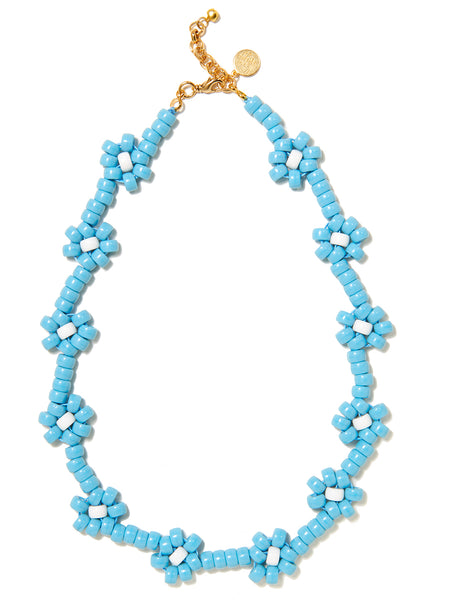 OOPSY DAISY NECKLACE (BLUE)