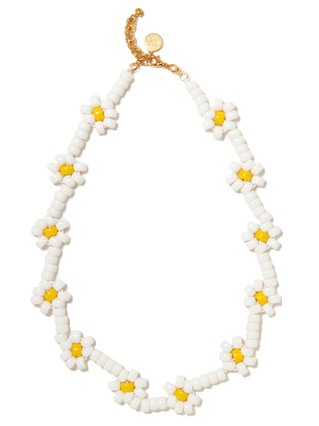 OOPSY DAISY NECKLACE (WHITE)