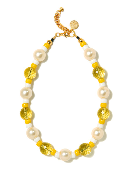 AURA NECKLACE (YELLOW)