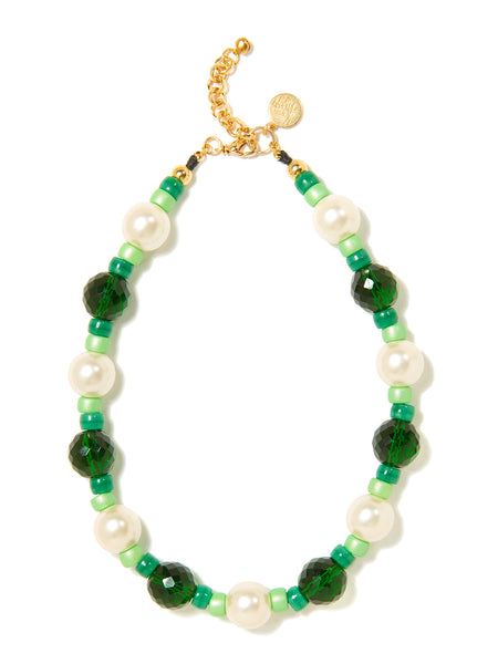 AURA NECKLACE (GREEN)