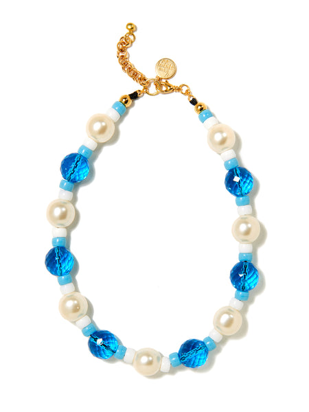 AURA NECKLACE (BLUE)