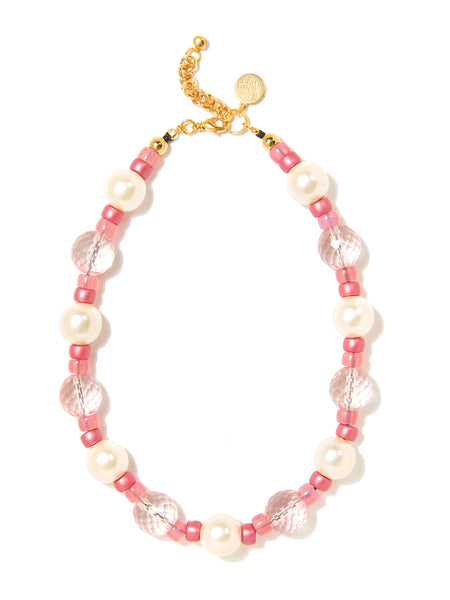 AURA NECKLACE (PINK)