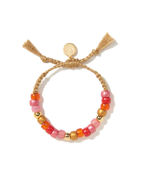 EUPHORIA BRACELET (PINK AND GOLD)