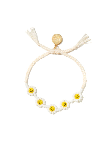 DAISY DREAMS BRACELET (SMILEY FACE)