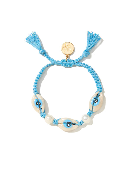HAPPY TRAILS BRACELET (BLUE)