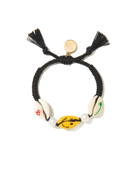 HAPPY TRAILS BRACELET (BLACK)