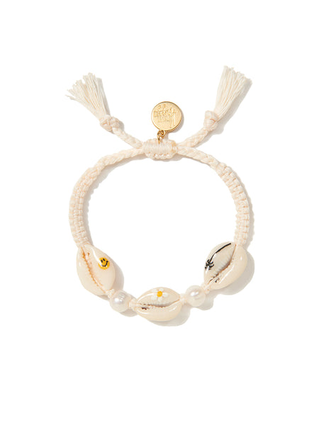HAPPY TRAILS BRACELET (WHITE)